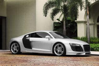 Audi R8 with Body Kit HD Poster Super Car Print multiple sizes