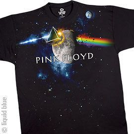 Pink Floyd T Shirt Great Gig In The Sky Rock Band Black Rainbow Prizm