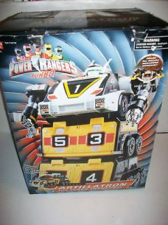 power rangers turbo artillatron zord megazord nib mib time left