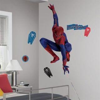 Amazing Spider man w/Web Peel & Stick Giant Removable Wall Decal Sti