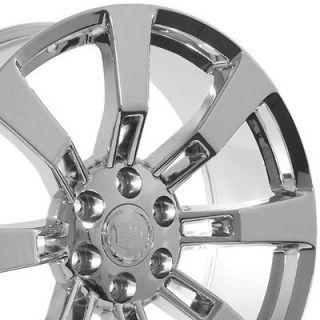 24 inch Cadillac Escalade chrome rims wheels Platinum ESV truck SUV