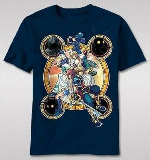 NEW Kingdom Hearts Mickey Goofy Sora Key Cloud Adult Video Game T