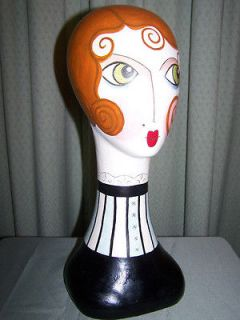 Silvestri Faboo Artist Vintage Style Mannequin Head Mimi NIB hat