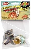 hermit crab shells growth shell 2pk by zoo med time