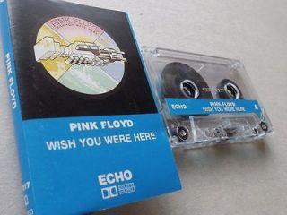 Pink Floyd   Wish You Were Here   Cassette (King Crimson, Jethro Tull
