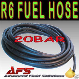 R6 Diesel Fuel Hose Tubing Unleaded Petrol Pipe Nitrile NBR Rubber Oil