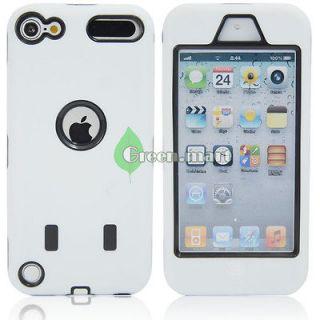 iPod Touch 4th Gen HARD & SOFT HEAVY DUTY ARMOR IMPACT CASE PURPLE