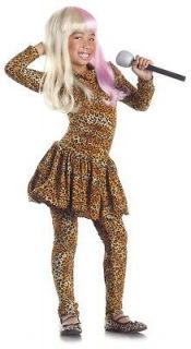 Funny Nicki Minaj costume WITH WIG Dress up, costume party   NEW