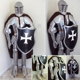 English Grand Hospitaller Suit Of Armour Hand Crafted In The UK