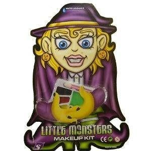 Little Monsters Witch Make Up Set Face Painting Costume Accessory Kit