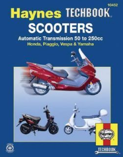 Scooters, Service and Repair Manual Automatic Transmission 50 to 250cc