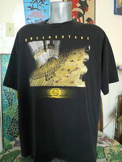2000 queensryche q2k world tour t shirt xl