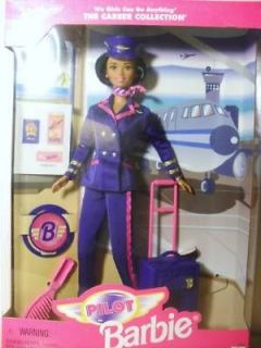 african american career collection pilot barbie doll