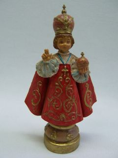 1985 italy infant jesus of prague nativity 5 roman catholic