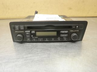 02 03 04 05 honda civic si radio cd player stereo oem 2002. Black Bedroom Furniture Sets. Home Design Ideas
