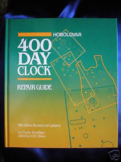 new horolovar 400 day clock repair guide time left $