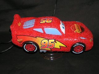 DISNEY CARS *** RUST EZE *** 95 ***RED LAMP NIGHT LIGHT NITE LITE