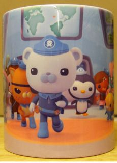 THE OCTONAUTS Coffee MUG CUP Childrens gift xmas GAME FIGURES