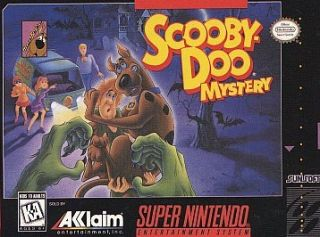 Scooby Doo Mystery (Super Nintendo,1995) Cartridge Only.GC .Free Ship