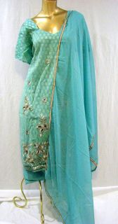 INDIA BOLLYWOOD WOMENS SALWAR KAMEEZ LATEST FASHION DRESS BUST 54