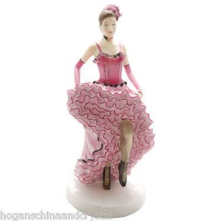 Royal Doulton Dances of the World French Can Can Figurine HN5571