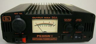 NEW QJE PS30SWII 30 Amp Switching Power Supply with Volt/Amp Meter