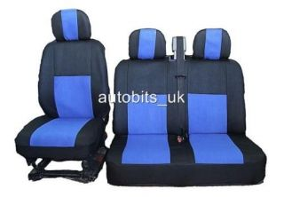 blue fabric seat covers for renault master trafic time left