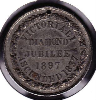 1837 1897 adj queen victoria diamond jubilee medal from canada