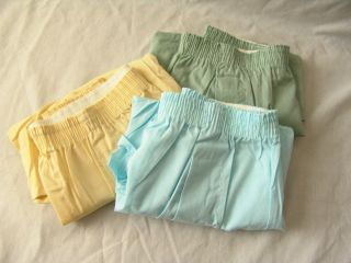 nos mens boxer shorts 3 pair cotton blend pack vintage