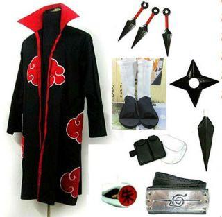 naruto itachi uchiha cosplay costume white shoes whole Naruto Itachi
