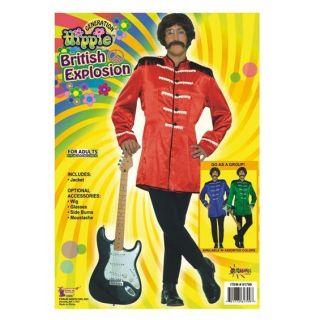 fancy dress 60s sixties sergeant peppers beatles jacket more options