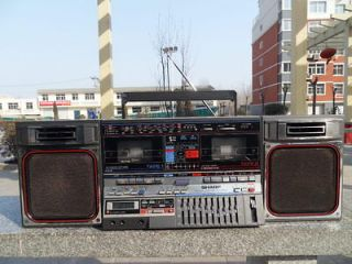 vintage sharp gf 800 stereo boombox ghettoblaster from china time