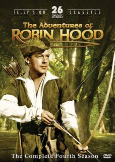 Adventures of Robin Hood The Complete Fourth Season DVD, 2009, 2 Disc