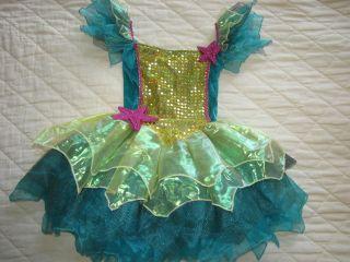 Girls Princess Paradise Unique Mermaid Halloween Costume Dress M 8