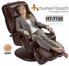 NEW Espresso Human Touch HT 7120 Massage Chair Recliner