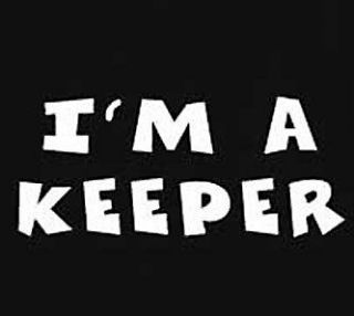 keeper t shirt funny retro humor tee