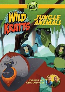 wild kratts jungle animals new dvd