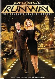 Project Runway The Complete Seventh Season DVD, 2010, 3 Disc Set