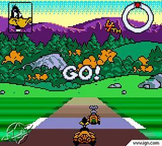 Looney Tunes Racing Nintendo Game Boy Color, 2001