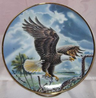 Eagle Triumphant~Ronald Van Ruyckevelt~Franklin Mint~Limited Edition