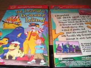 THE WACKY ADVENTURES OF RONALD McDONALD The Legend of Grimace Island