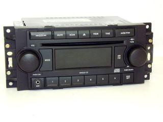 Jeep Dodge Chrysler Radio 2004   2010 REF AMFM CD Aux Input for iPod