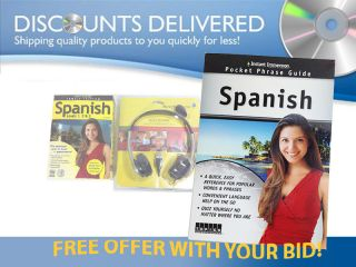 Instant Immersion Spanish FREE SHIP and USB Rosetta Stone headset