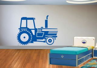tractor digger boys bedroom wall art toy sticker g128 more