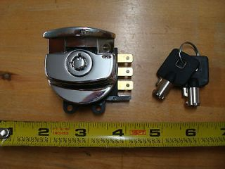 1993 2010 HINGED IGNITION SWITCH HARLEY FXDWG SOFTAIL ROAD KING