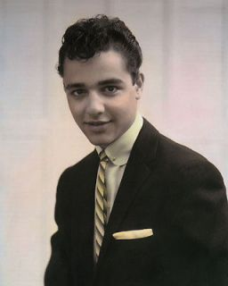 SALVATORE SAL MINEO HOLLYWOOD ACTOR MOVIE STAR 8x10 HAND COLOR