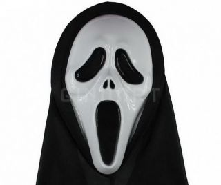 scream scary ghost hooded face mask halloween party new from