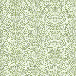 Doll House  Wallpaper Wil​liam Morris Acorns ​Green (h20)