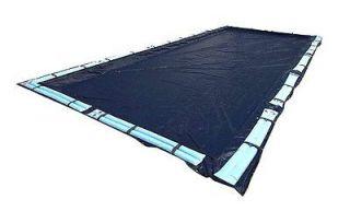 20x40 Dark Blue Winter Safety Rectangular Inground Swimming Pool Cover
