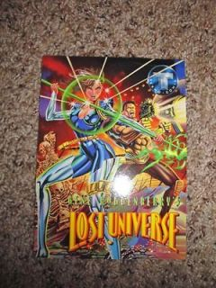 tekno comix gene roddenberry s lost universe promo card time